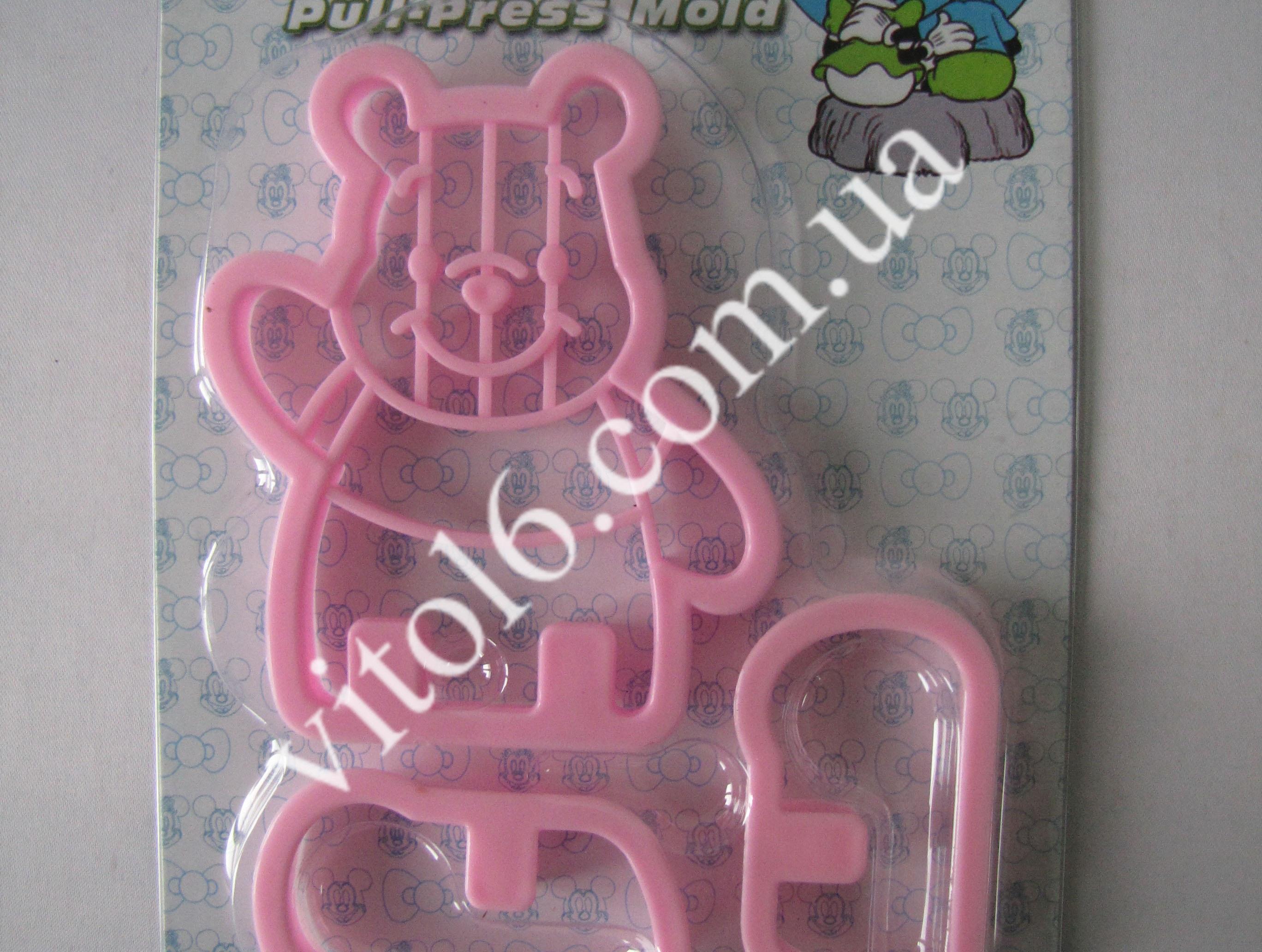 Трафарет конд.пластм Медведь VT6-17077(260шт)