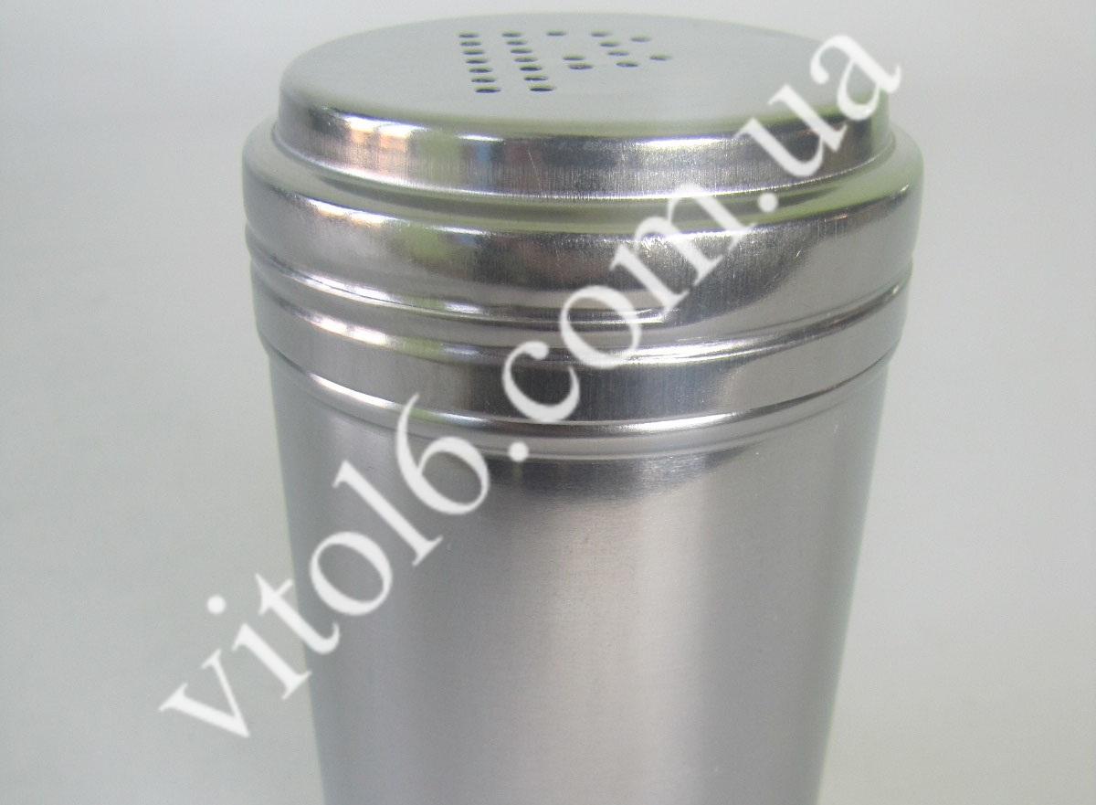 Солонка нерж 7*12,5см VT6-17306(200шт)