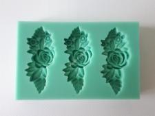 Молд конд.силиконовый Цветы (3)О9см т=1,4VT6-16903