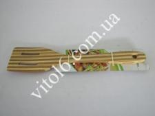 Лопатка деревянная в полоску6,5*31смVT6-17009(200)