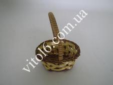 Корзинка из лозы с ручкой 7*8смVT6-17499(1500)