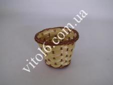 Корзинка из лозы без ручки 7,5*9смVT6-17500(1350)