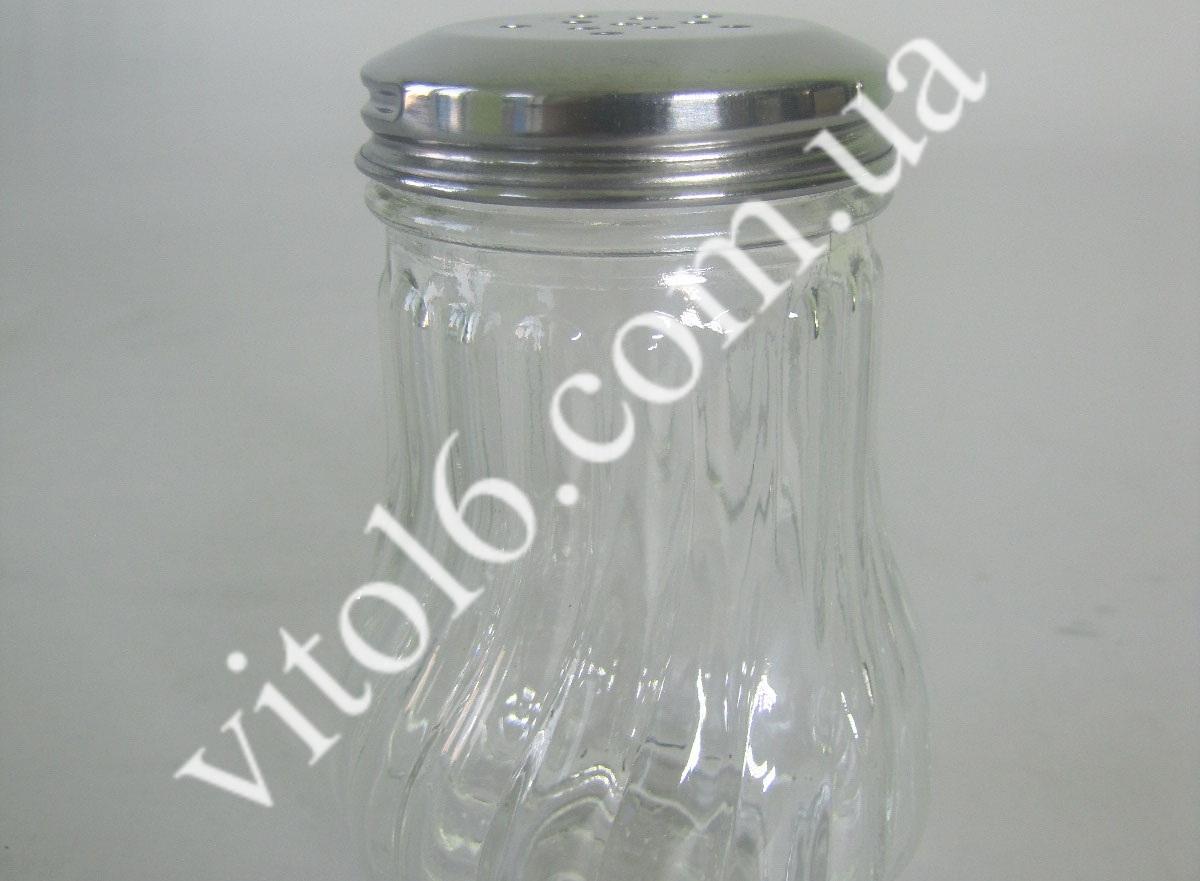 Солонка  стекл металл крышк VT6-17672 (72шт)