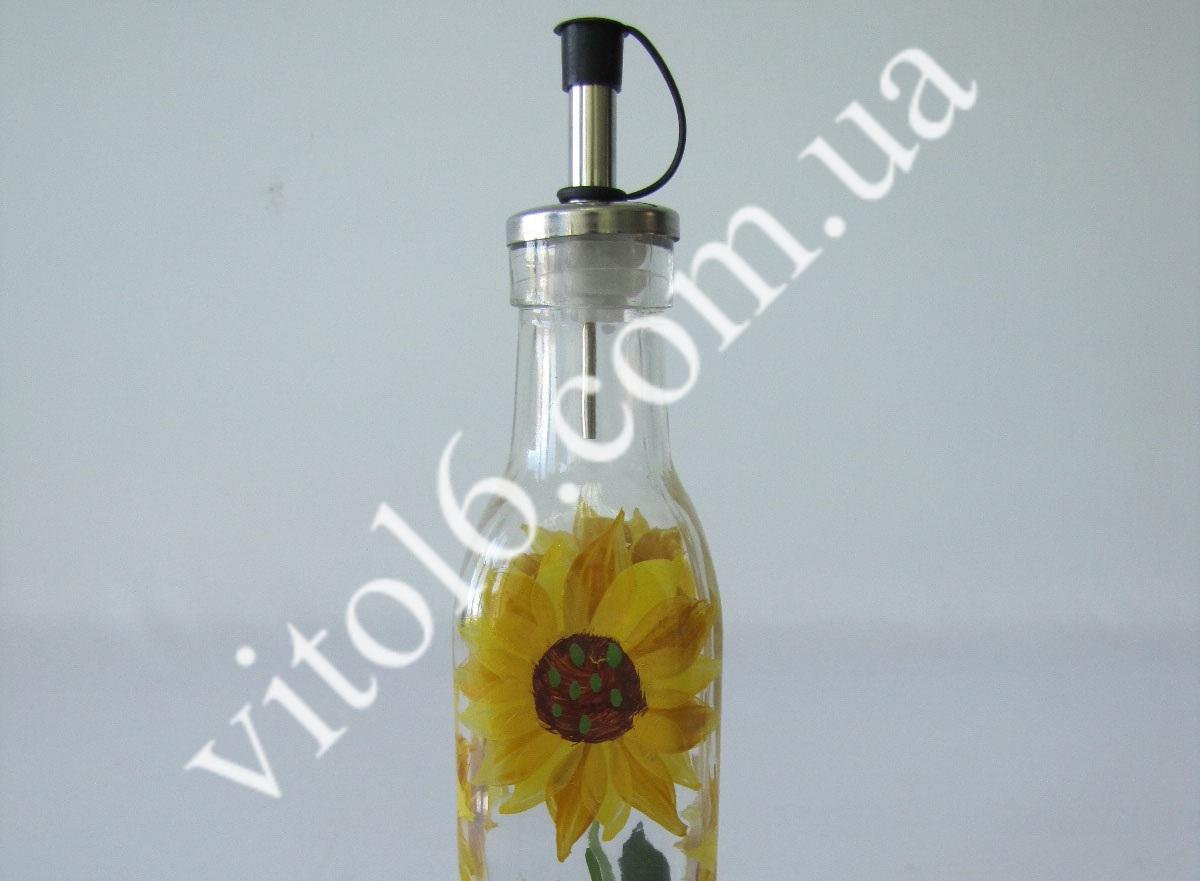 Ёмкость стекл.для масла Подсолнух средVT6-17157(48