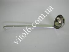Половник 1сорт 4oz 120мл с крючком VT6-17232(420)