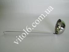 Половник 1сорт 12oz 360мл с крючком VT6-17236(280)