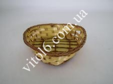 Сухарница из лозы О16см Сердце VT6-17362(900)