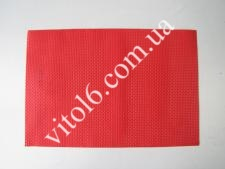 Салфетка под тарелки красная VT6-17416(300шт)