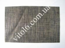 Салфетка под тарелки чёрно-коричн VT6-17420(300шт)