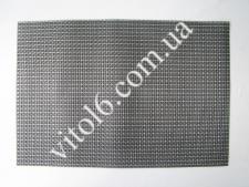 Салфетка под тарелки черно-серая VT6-17421(300шт)