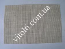 Салфетка под тарелки Сетка св.бежевVT6-17422(300)