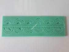 Килимок  кондитерський для айсингу16,5*5 Оборка VT6-17132