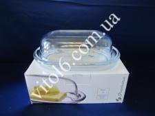 Маслёнка стекло  Бейсик 13х20х6,5  98402 (6 шт)