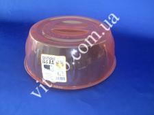 СВЧ Крышка пластмассовая G-470  26 см (24шт)