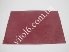 Салфетка под тарелки бордо VT6-17419(300шт)