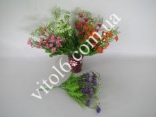 Цветы искусств.в букете(4цв) VT6-17612(800шт)