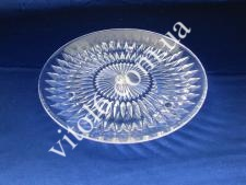 Блюдо пластмасове прозоре О20см VT6-16988(120шт)