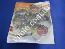 Форма для печен из 8ми метал. Ассорти  VT6-17202