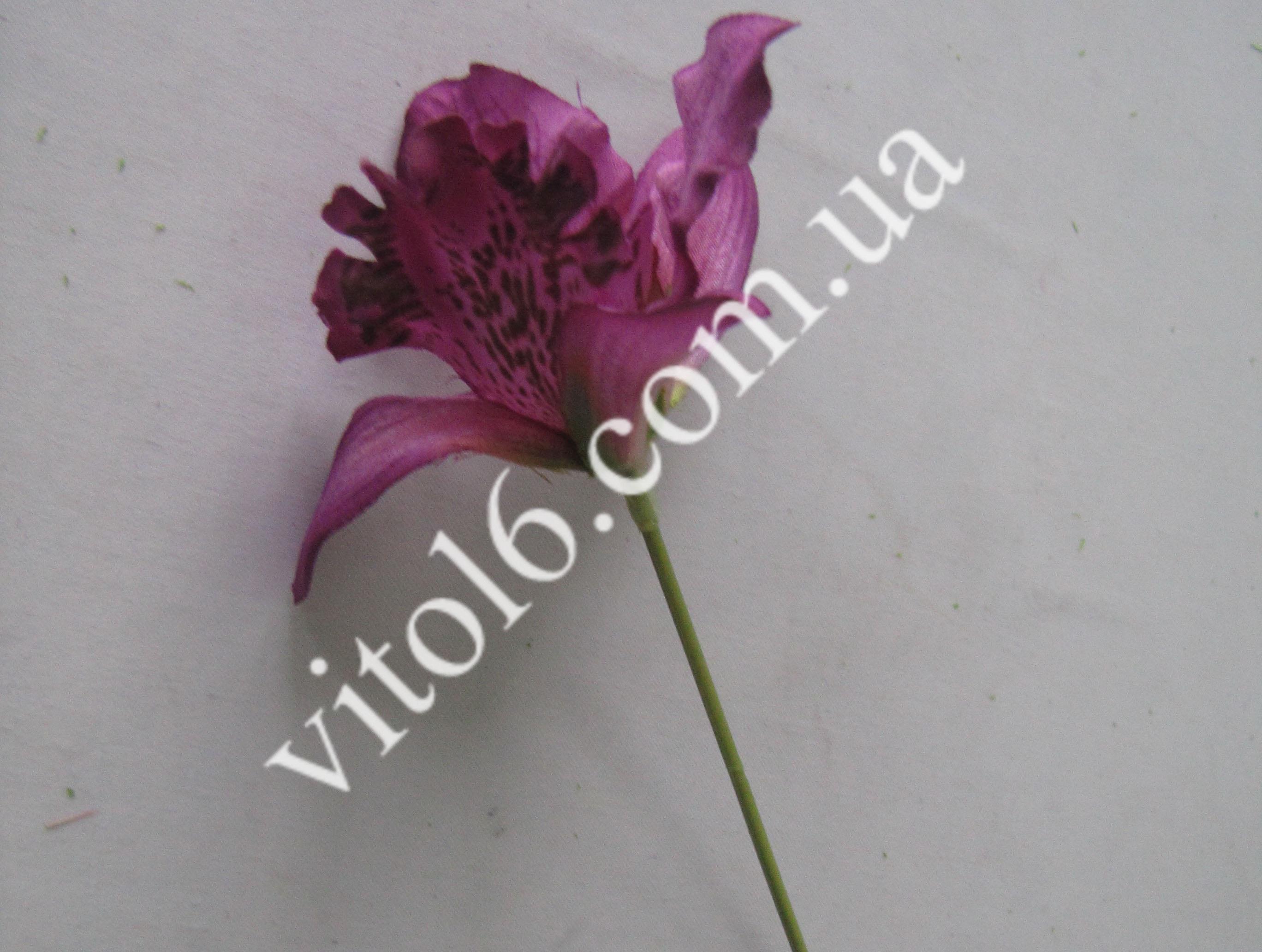 Орхидея искусств.фиолет на проволоке(48)VT6-17603