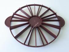 Трафарет пластм кондіт.для ділення (на 10/12) торта О 26 см VT6-17759 (100шт)