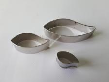 Форма кондитерська метал з 3-х  Листочки  VT6-17184(250шт)