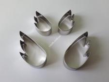 Форма кондит.метал з 4 х  Крила  VT6-17377 (125шт)