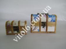 Сундучок в наборе из 2-х(5тьцв)15*10*10смVT6-17687(60