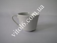 Чашка  белая  без блюдца 125СС-FK (6 шт)(144шт)