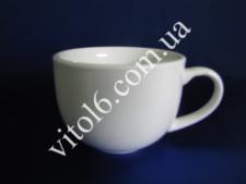 Чашка  белая  б/блюдца HTSX-250CC 230мл (6 )(72шт)
