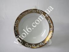 Салатник №9  Золотой цветок  13С-005G (48шт)