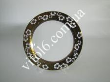 Тарілка  Золота квітка  мілка №9 13С-005G (48шт)