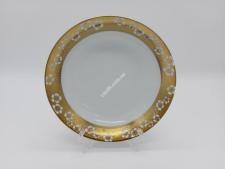 Тарілка  Золота квітка  глибока №7,5 13С-005G (72)
