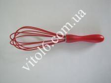 Вінчик силіконовий з пластм ручкою 25см VT6-17808(144шт)