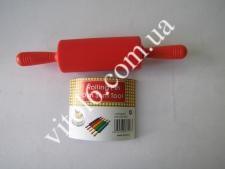 Скалка силиконовая 21см(раб О4,5*10,см)смVT6-17817(120шт)