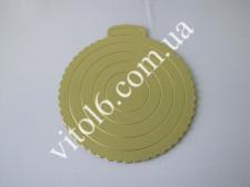 Подставка кондитерская картон для торта  О 28,5см VT6-16561-1(200шт)