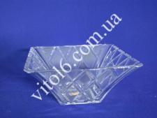 Салатник  стекло квадрат. 652 GB (8шт)