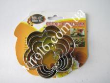 Форма метал. 8*1,5 см з 5-ти  Квітка  VT6-17925 (240шт)