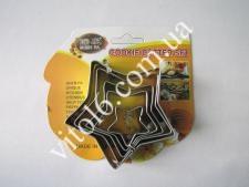 Форма метал.8*1,5см из 5-ти Звезда VT6-17926