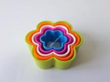 Форма пластм.9*3,2см з 5-ти  Квітка  VT6-17933 (240шт)