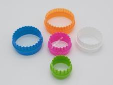 Форма пластм.для випічки з 6-ти  Кільце  10*3,2см VT6-17934 (240шт)