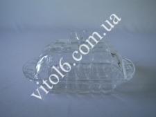 Маслёнка стекло EMIN-6874  (32шт)