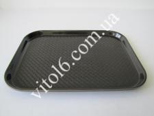 Поднос пластмассовый 40*30см VT6-18009(50шт)