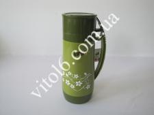 Термос пластмасовий 1л h-30,5смVT6-18023(12шт)