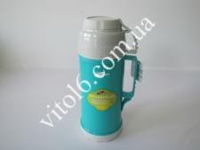 Термос пластмасовий 1л  h-30смVT6-18027(12шт)