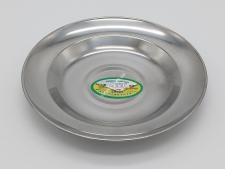 Тарелка мелкая нерж 20см VT6-18236(500шт)