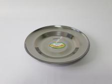 Тарелка мелкая нерж 22см VT6-18237(500шт)