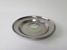 Тарелка мелкая нерж 24см VT6-18238(500шт)