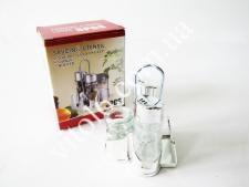 Набор для специй пластм(соль+перец+зубочистка+салфетн)VT6-18368(60шт)