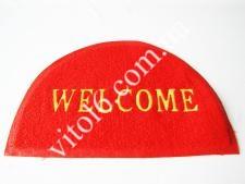 Коврик Welcom 56*38  полукруг VT6-18408(60шт)