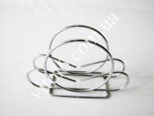 Салфетница-проволока нерж. Круг  VT6-18507 (200шт)
